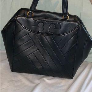 Large tory burch alexa satchel